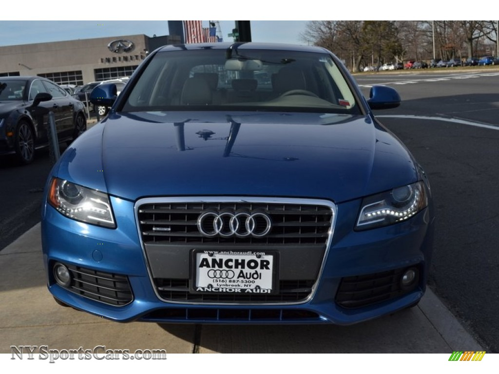 2009 audi a4 2.0t premium quattro sedan in aruba blue pearl effect