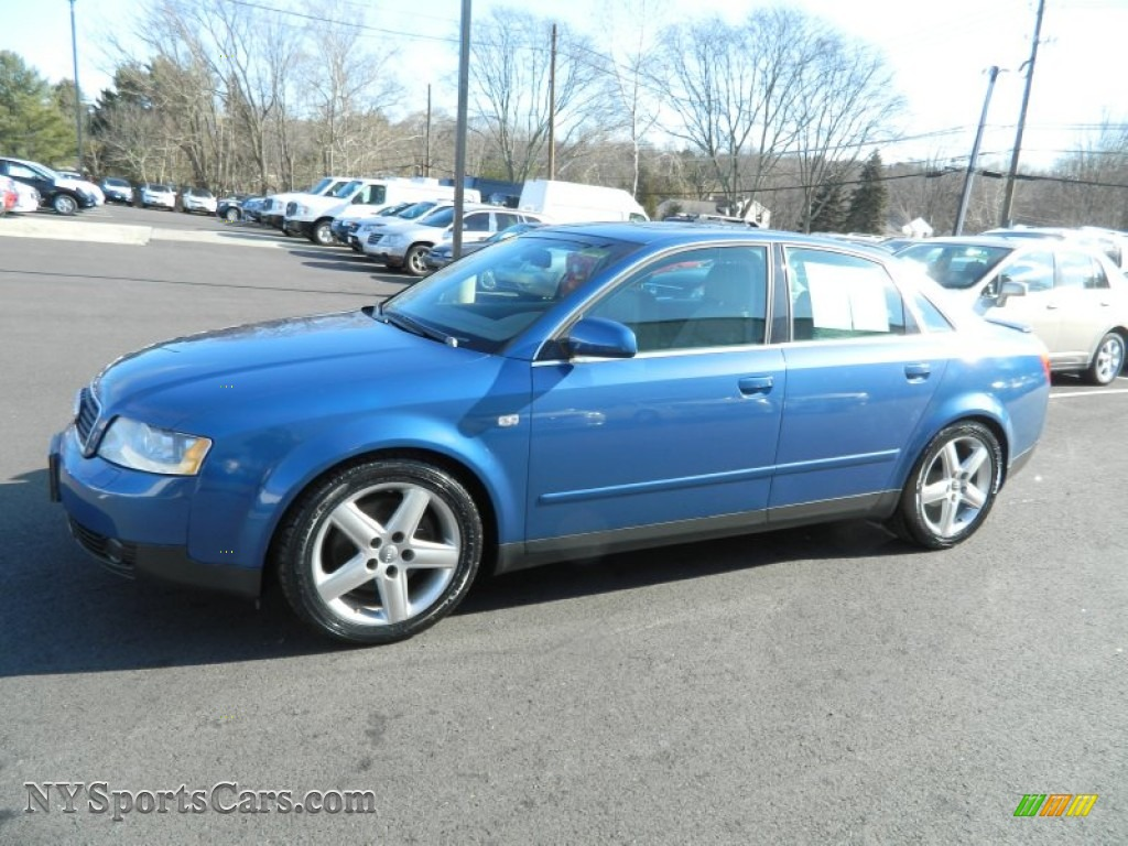 2003 audi a4 3 0 quattro sedan in caribic blue pearl 205214 cars for sale. Black Bedroom Furniture Sets. Home Design Ideas