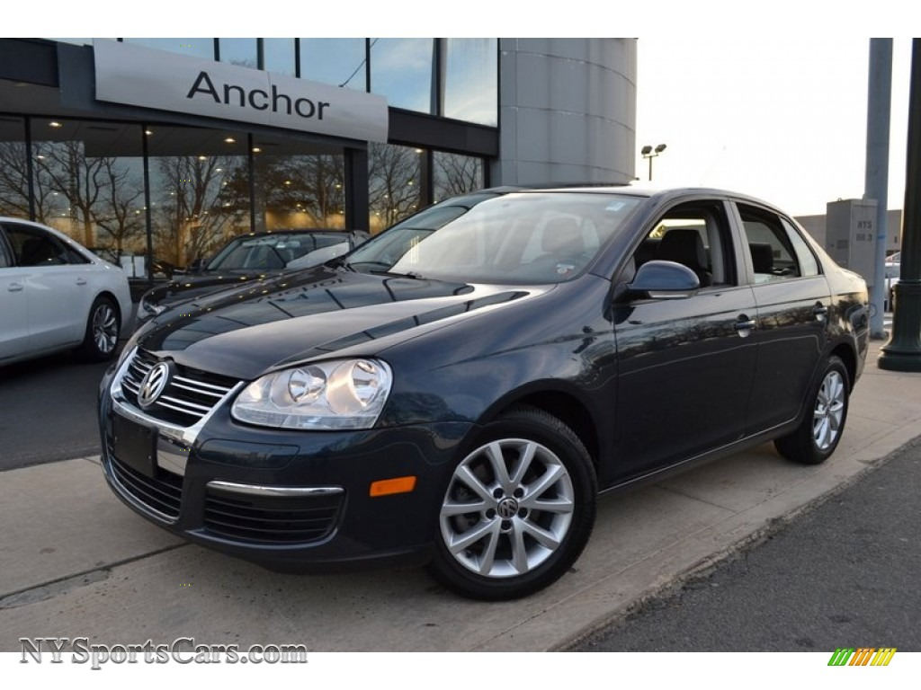 2010 Volkswagen Jetta Se Sedan In Blue Graphite Metallic