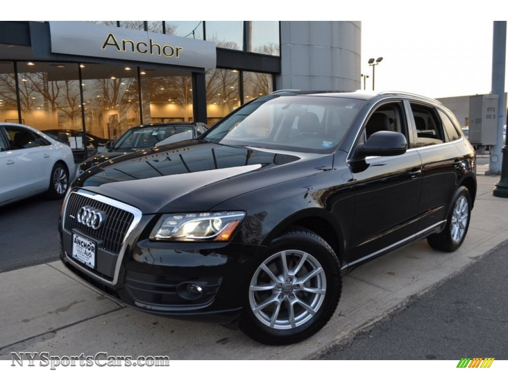 2011 Audi Q5 2 0t Quattro In Brilliant Black 096908 Nysportscars Com Cars For Sale In New York
