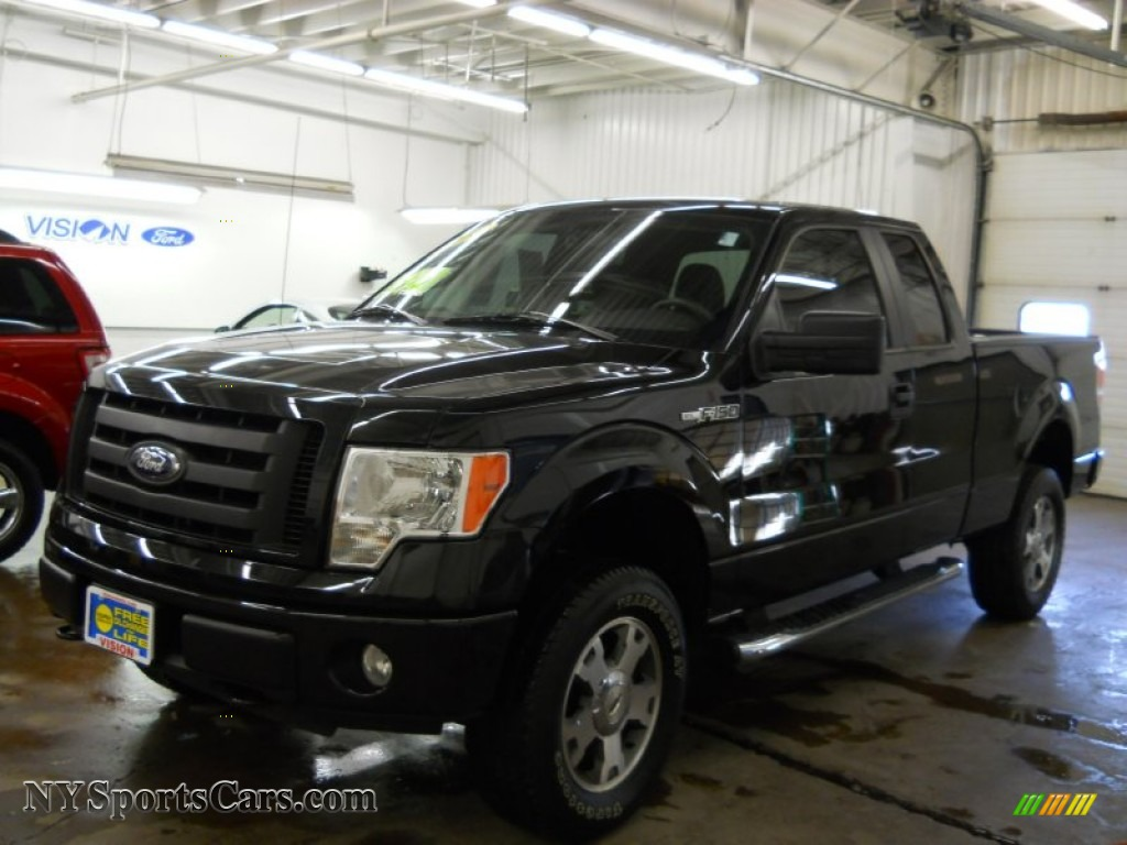 2010 ford f150 stx supercab 4x4 in tuxedo black a75104 cars for sale in. Black Bedroom Furniture Sets. Home Design Ideas