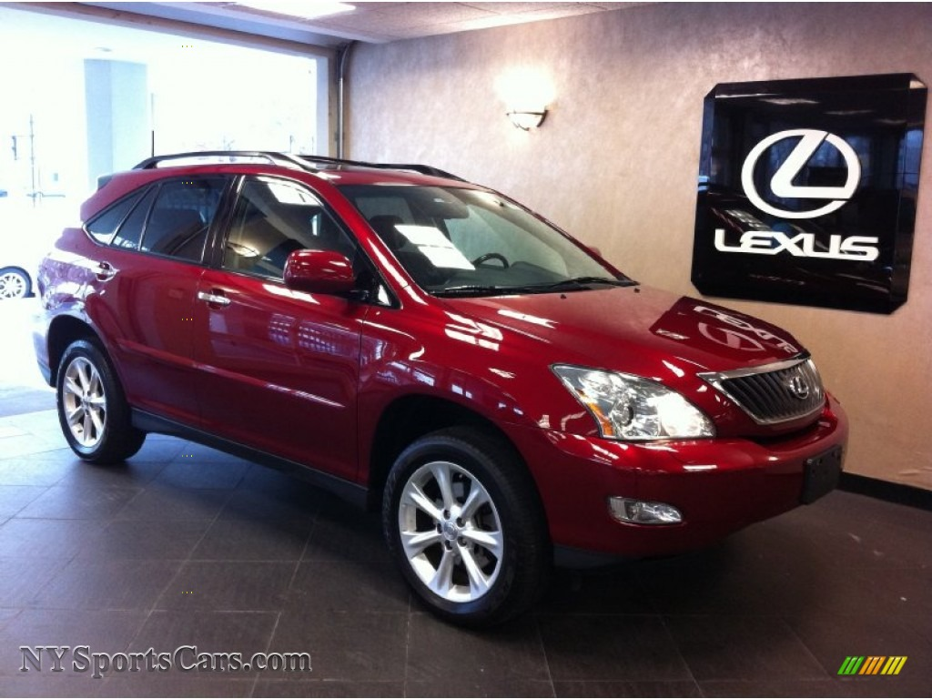2009 Lexus Rx 350 Awd In Matador Red Mica 116749 Cars For Sale In New York