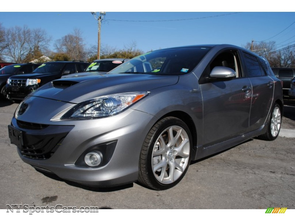 2011 Mazda Mazda3 Mazdaspeed3 In Liquid Silver Metallic