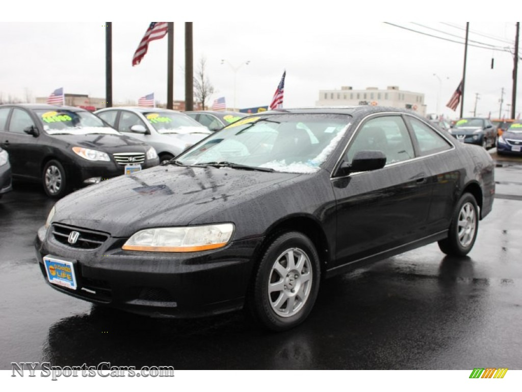 2002 Honda Accord Se Coupe In Nighthawk Black Pearl