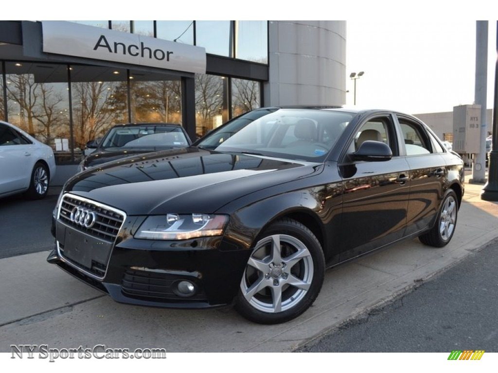 2009 audi a4 2 0t premium quattro sedan in brilliant black 025314 cars. Black Bedroom Furniture Sets. Home Design Ideas