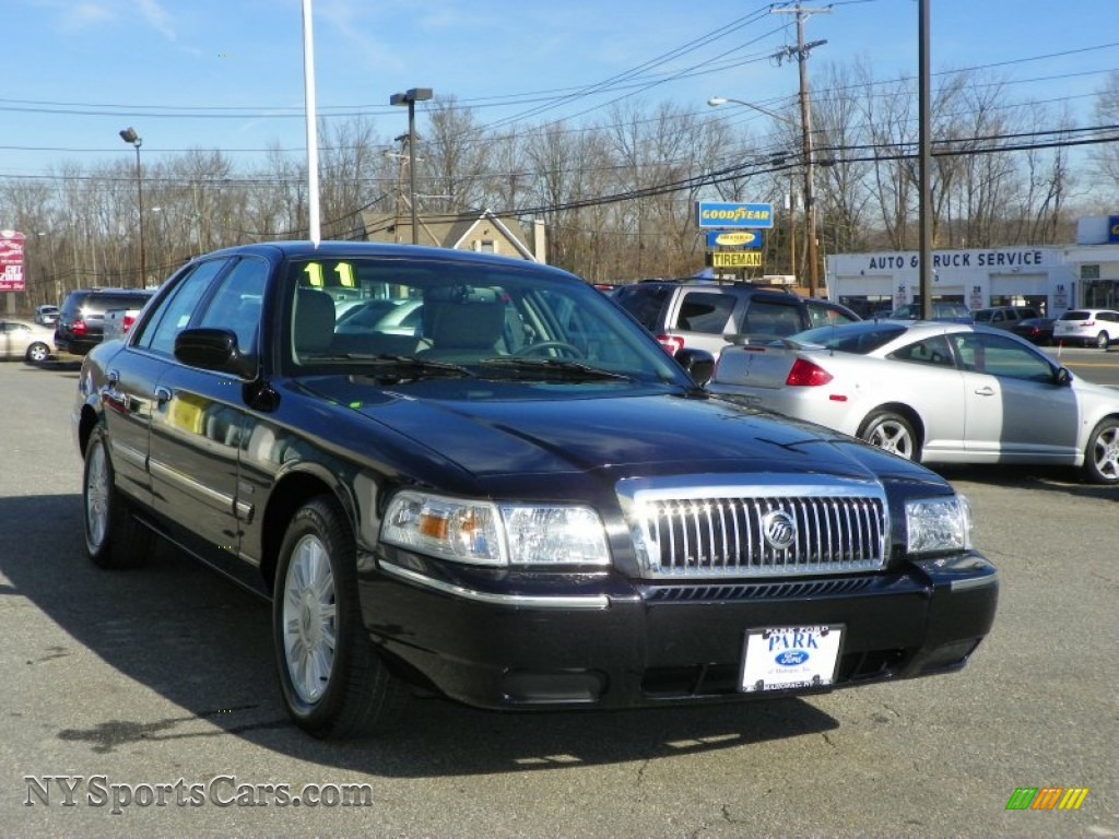 2011 Mercury Grand Marquis Ls Ultimate Edition In Black 603014 Nysportscars Com Cars For