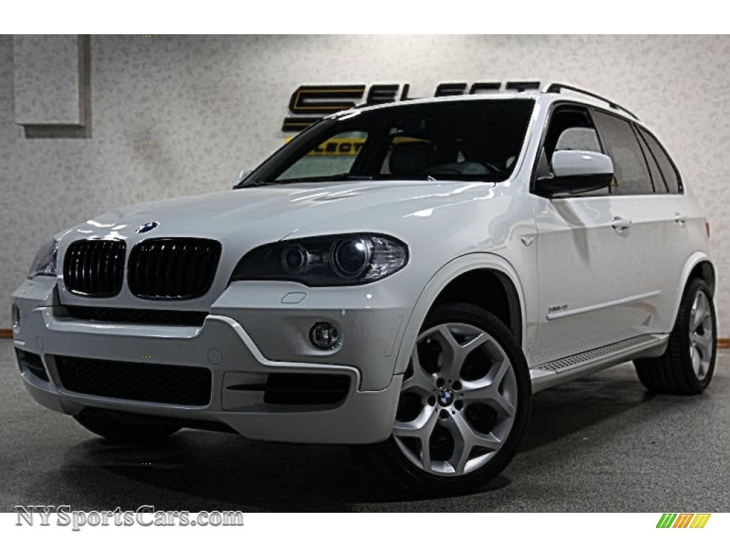 2009 bmw x5 xdrive48i in alpine white - 170039 | nysportscars