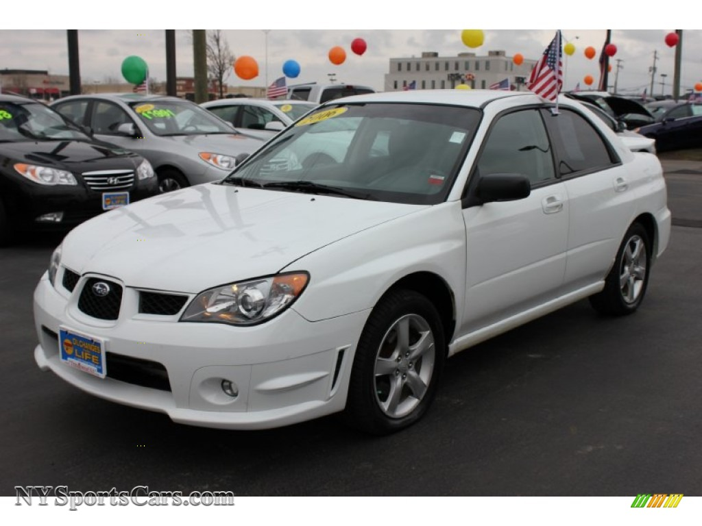 2006 subaru impreza 2.5i sedan in aspen white - 524379