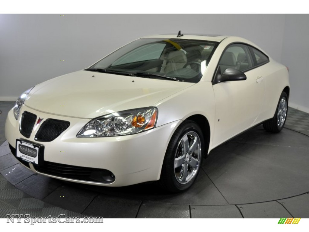2009 Pontiac G6 Gt Coupe In White Diamond Tri Coat