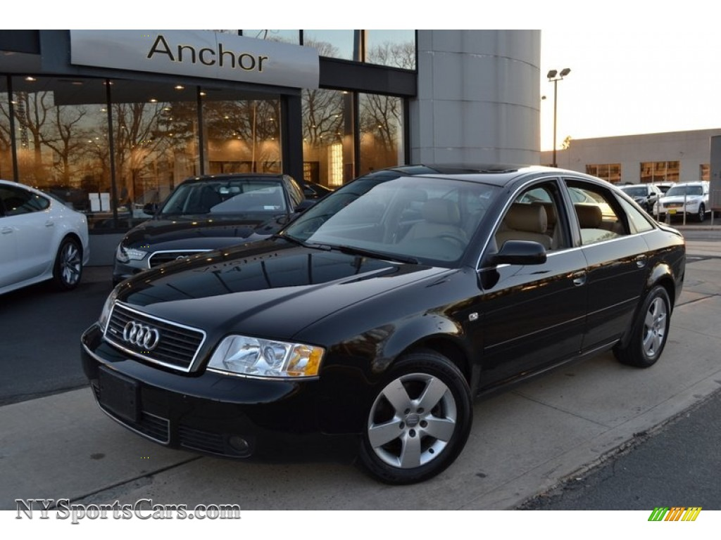 Brilliant Black / Beige Audi A6 3.0 quattro Sedan