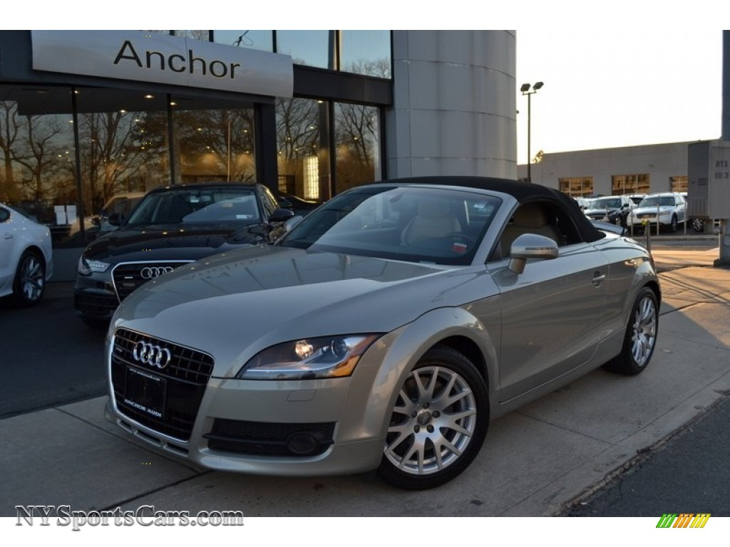 2008 audi tt 3 2 quattro roadster in sahara silver metallic 029184 cars. Black Bedroom Furniture Sets. Home Design Ideas