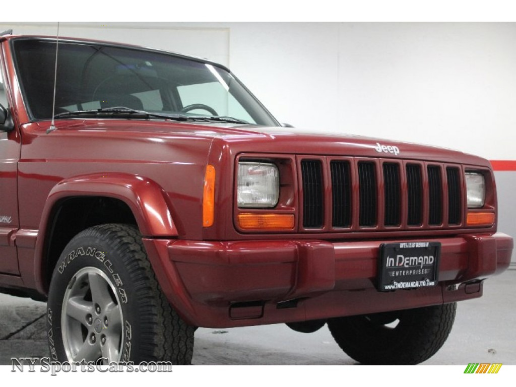 1998 Jeep Cherokee Classic 4x4 In Chili Pepper Red Pearl