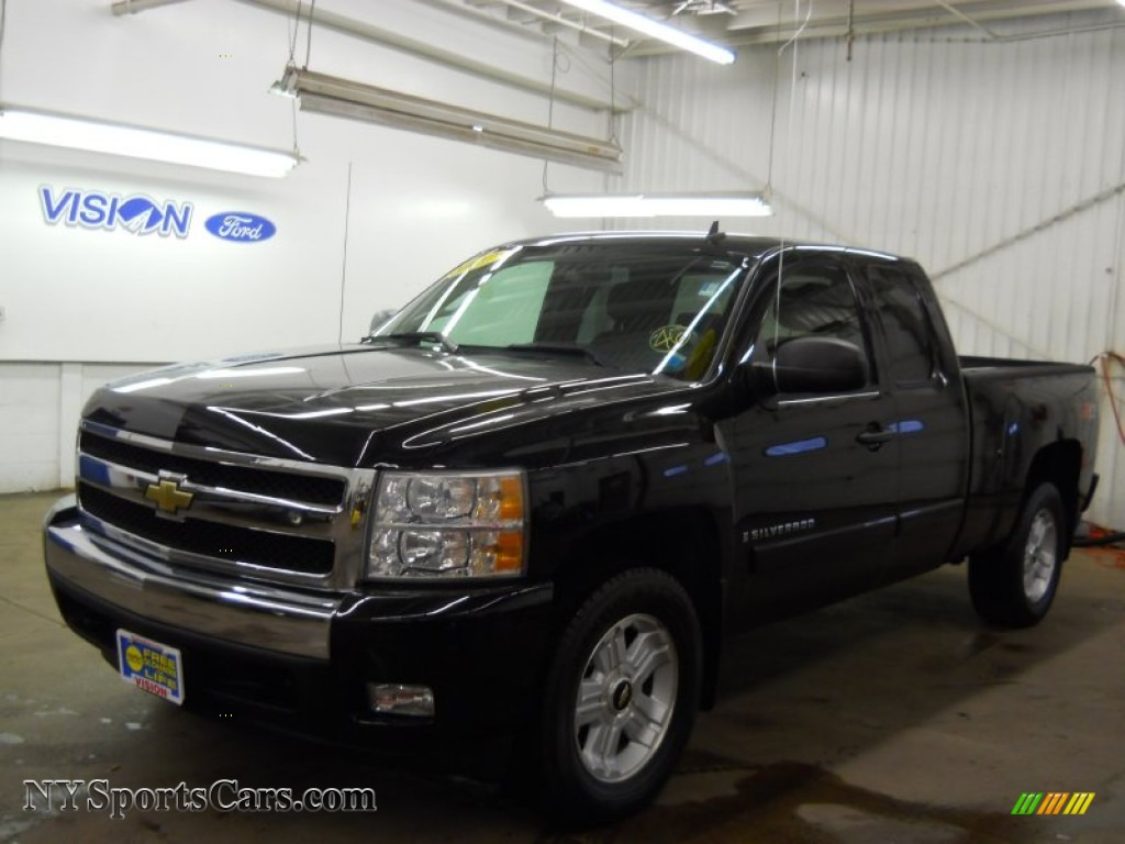 2007 chevrolet silverado 1500 lt z71 extended cab 4x4 in. Black Bedroom Furniture Sets. Home Design Ideas