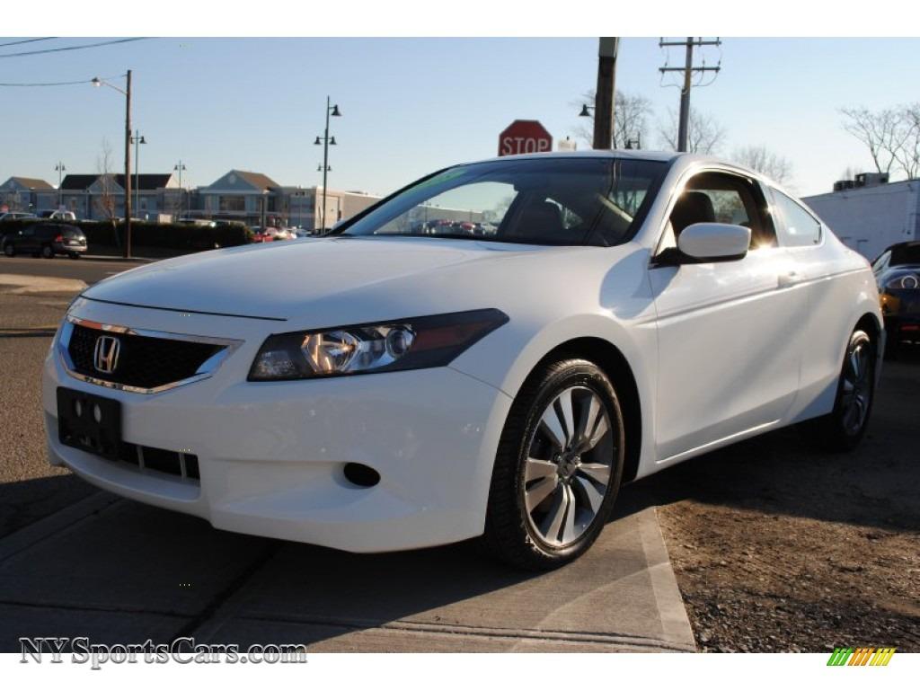 2008 Honda Accord Ex L Coupe In Taffeta White 014317