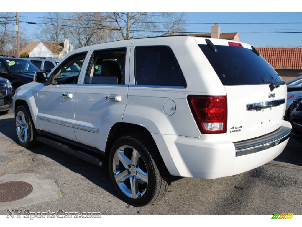 2010 jeep grand cherokee limited 4x4 in stone white photo #2
