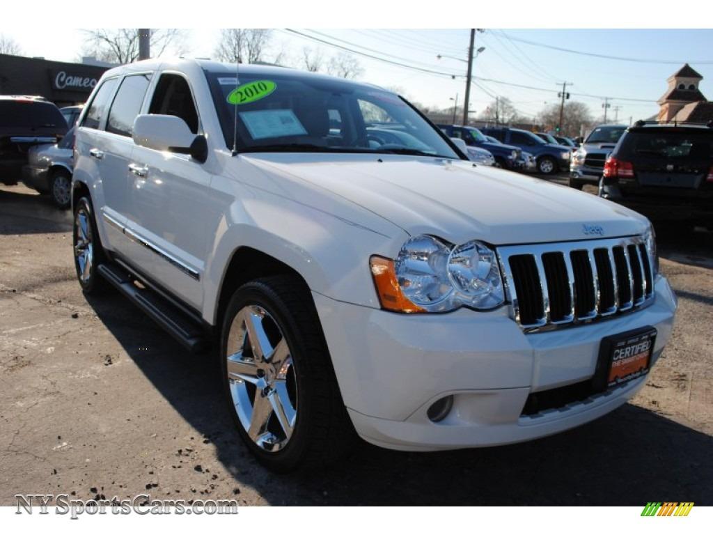 2010 Grand Cherokee Limited 4x4   Stone White / Dark Slate Gray/Light  Graystone Photo