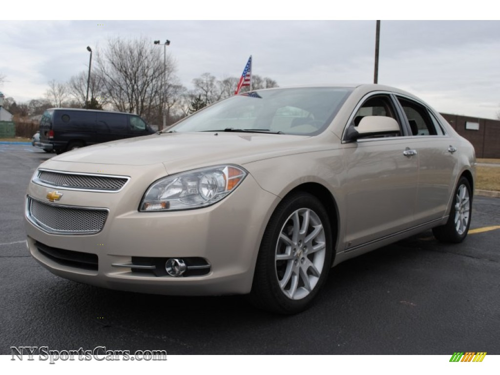 2009 chevrolet malibu ltz sedan in gold mist metallic 185954 cars for. Black Bedroom Furniture Sets. Home Design Ideas