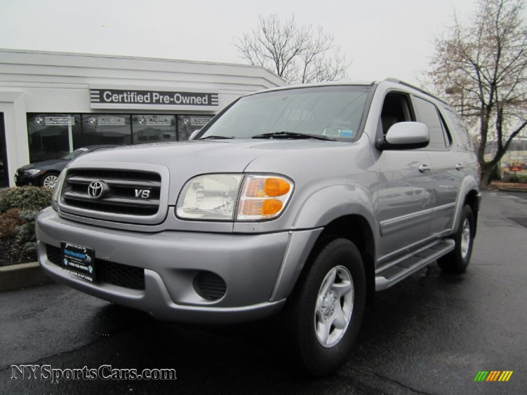 2001 toyota sequoia sr5 4x4 in thunder gray metallic 032125 cars for sale. Black Bedroom Furniture Sets. Home Design Ideas