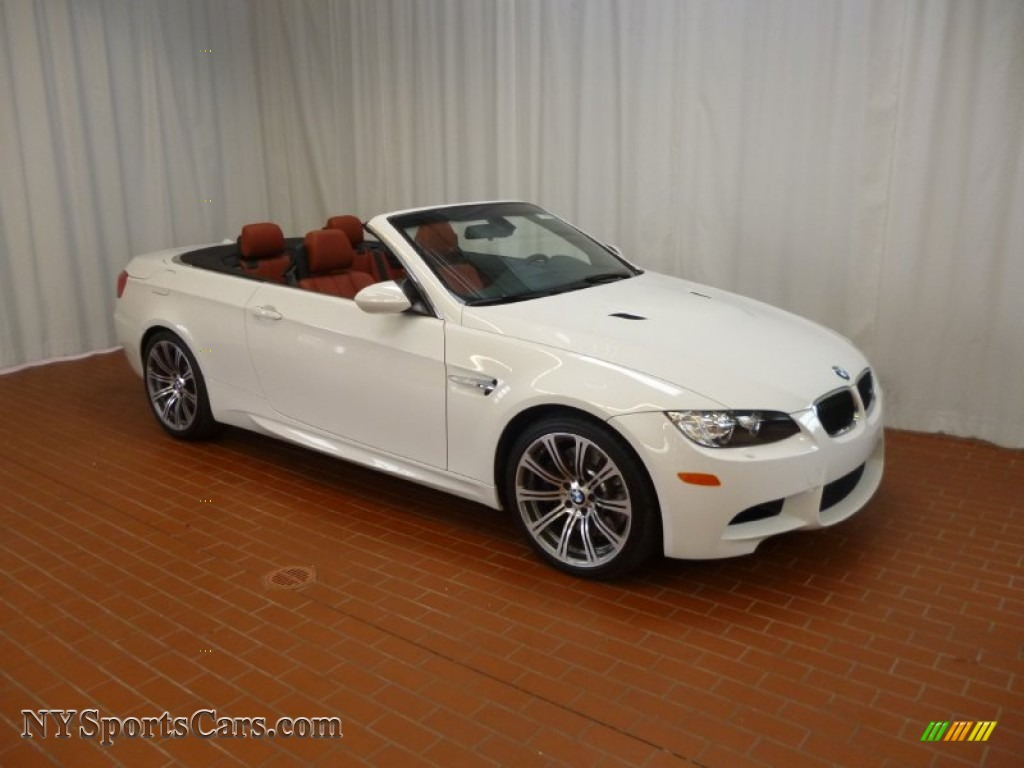 2012 bmw m3 convertible in alpine white 784851 cars for sale in new york for White bmw with red interior for sale