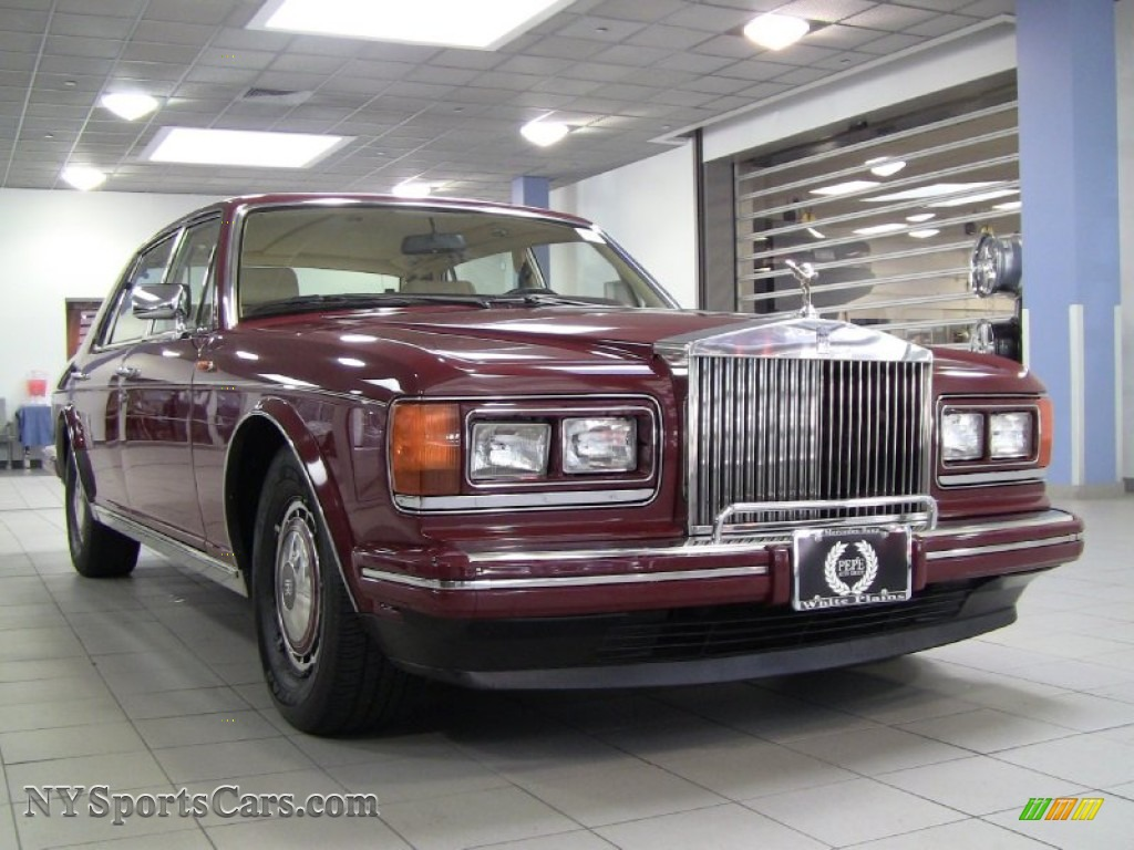 White Plains Gmc >> 1990 Rolls-Royce Silver Spur II Mulliner in Claret Red ...