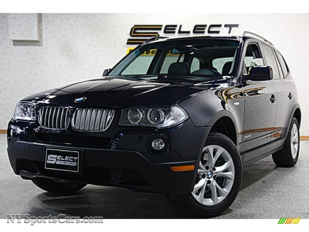 2009 BMW X3 xDrive30i in Monaco Blue Metallic - J27314 ...