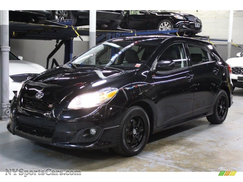 2009 Toyota Matrix S In Black Sand Mica 025007 Nysportscars Com