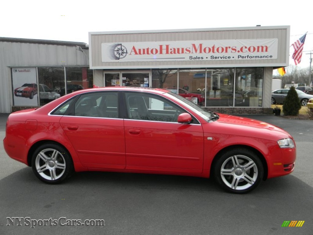 2007 audi a4 2 0t quattro sedan in brilliant red 208195 cars for sale in. Black Bedroom Furniture Sets. Home Design Ideas