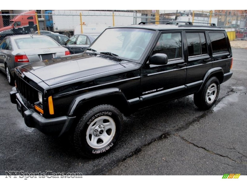 2001 jeep cherokee sport 4x4 in black photo 4 580890 cars for sale in. Black Bedroom Furniture Sets. Home Design Ideas