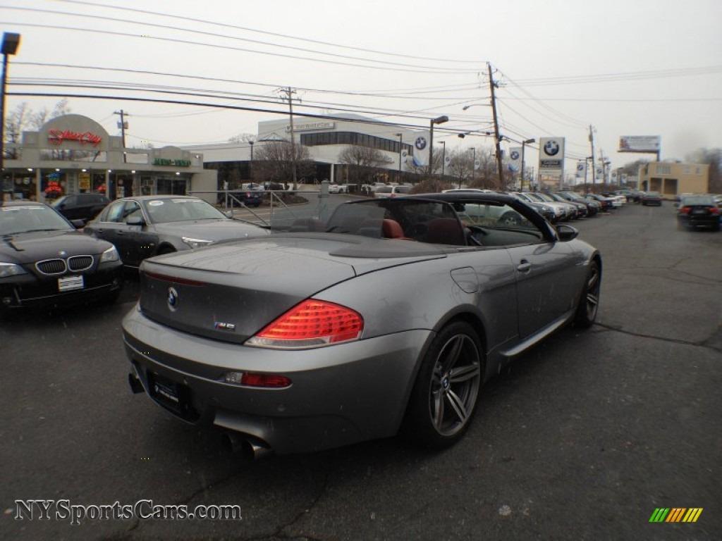 Worksheet. 2007 BMW M6 Convertible in Silver Grey Metallic photo 4  Y78788