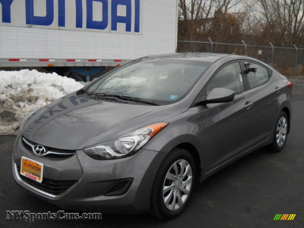 2012 Hyundai Elantra Gls In Harbor Gray Metallic 091937