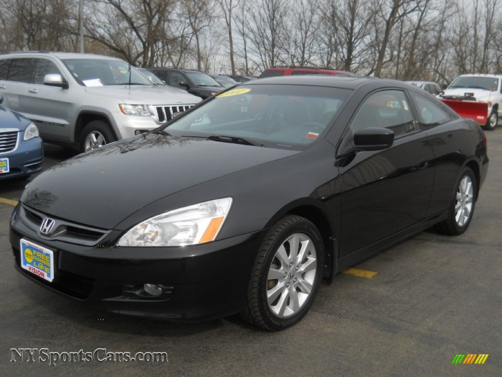 2007 honda accord ex v6 coupe in nighthawk black pearl. Black Bedroom Furniture Sets. Home Design Ideas
