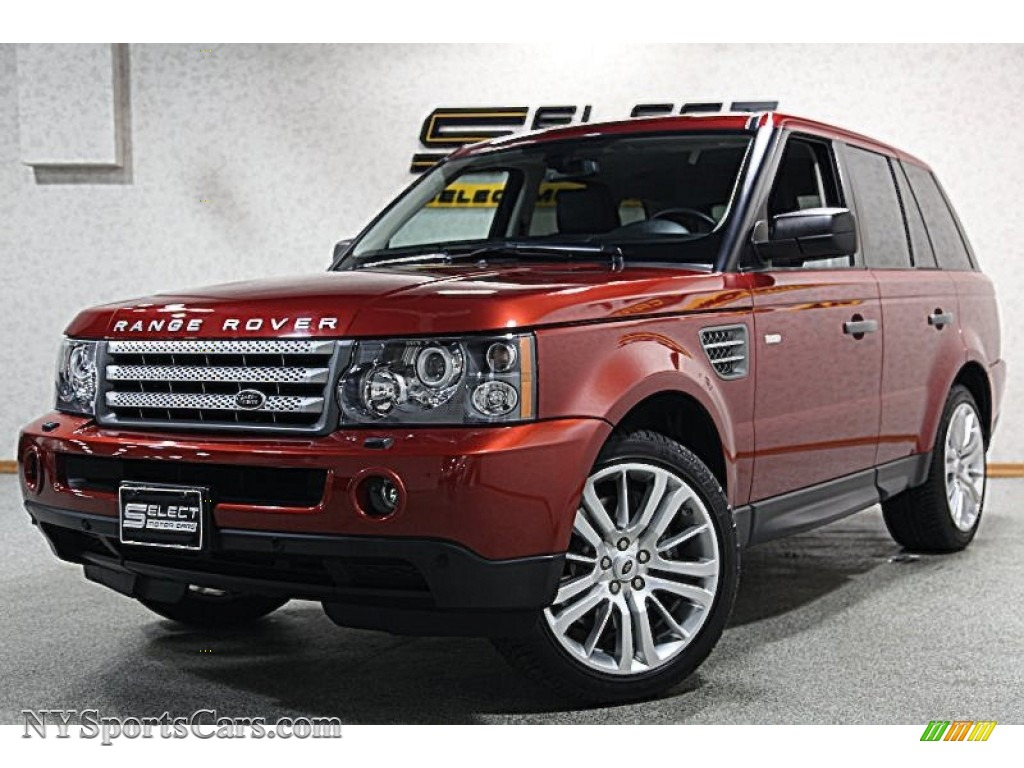 2009 land rover range rover sport supercharged in rimini red metallic photo 2 197898. Black Bedroom Furniture Sets. Home Design Ideas