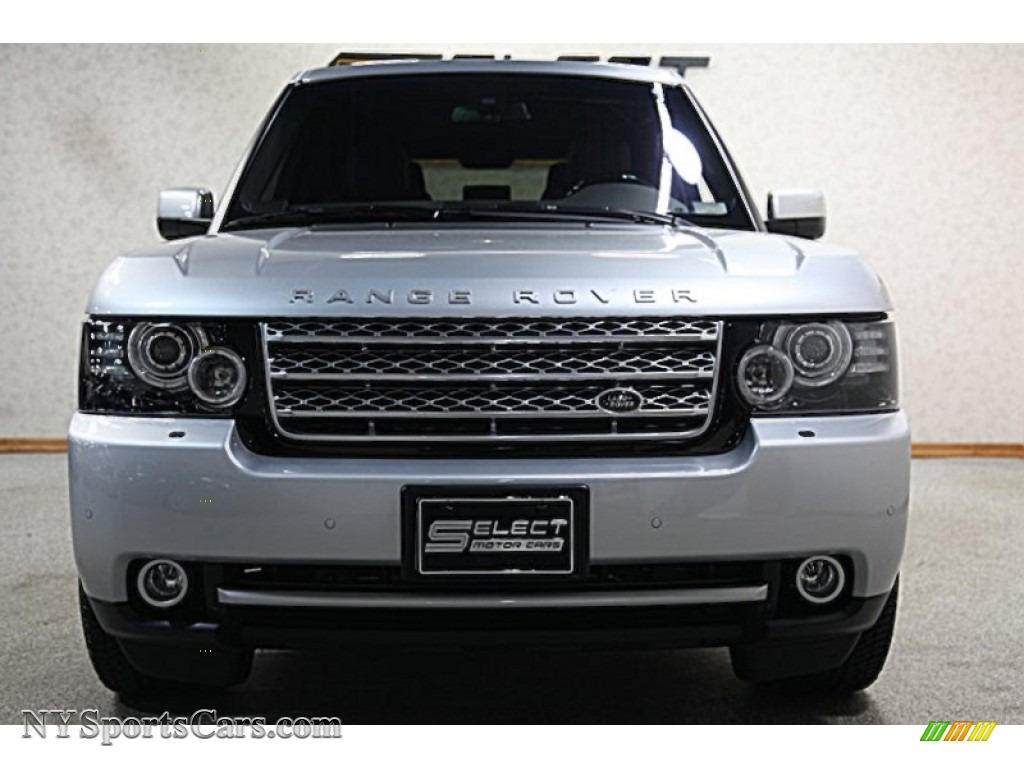 2012 land rover range rover supercharged in indus silver metallic photo 2 370638. Black Bedroom Furniture Sets. Home Design Ideas