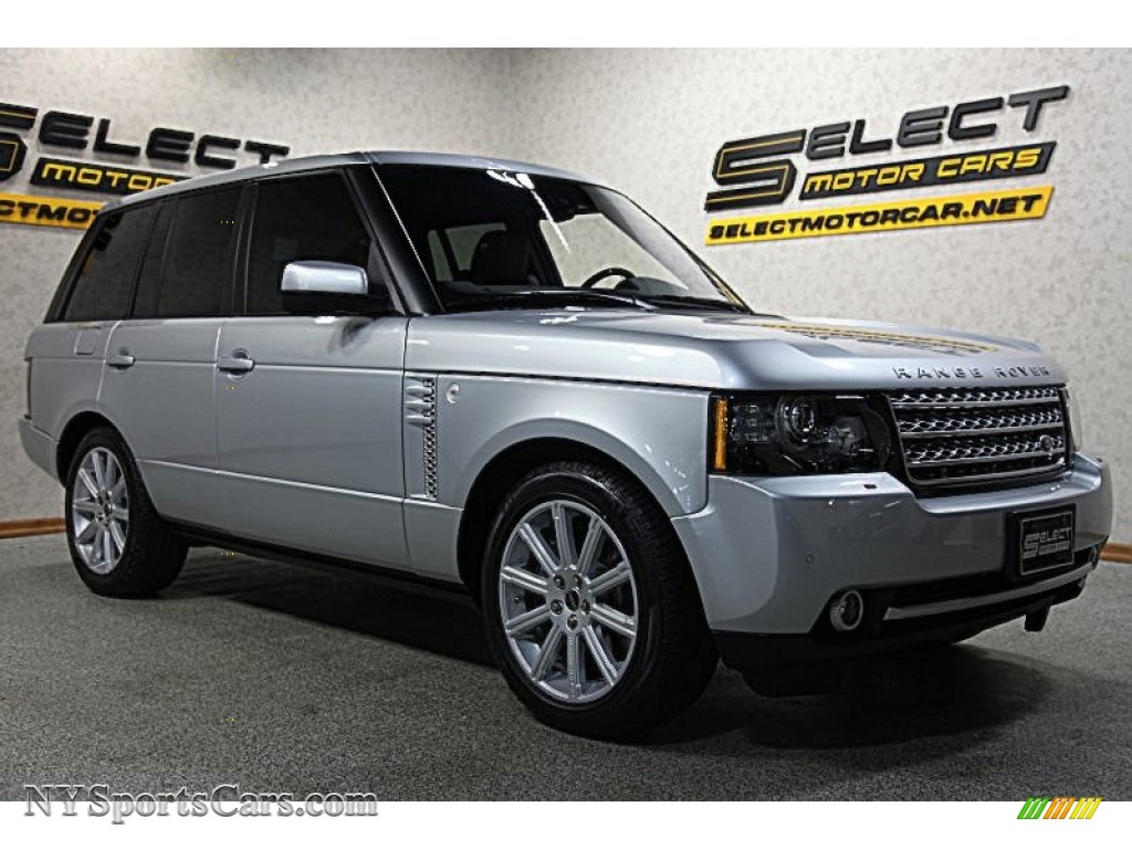 2012 land rover range rover supercharged in indus silver metallic photo 3 370638. Black Bedroom Furniture Sets. Home Design Ideas