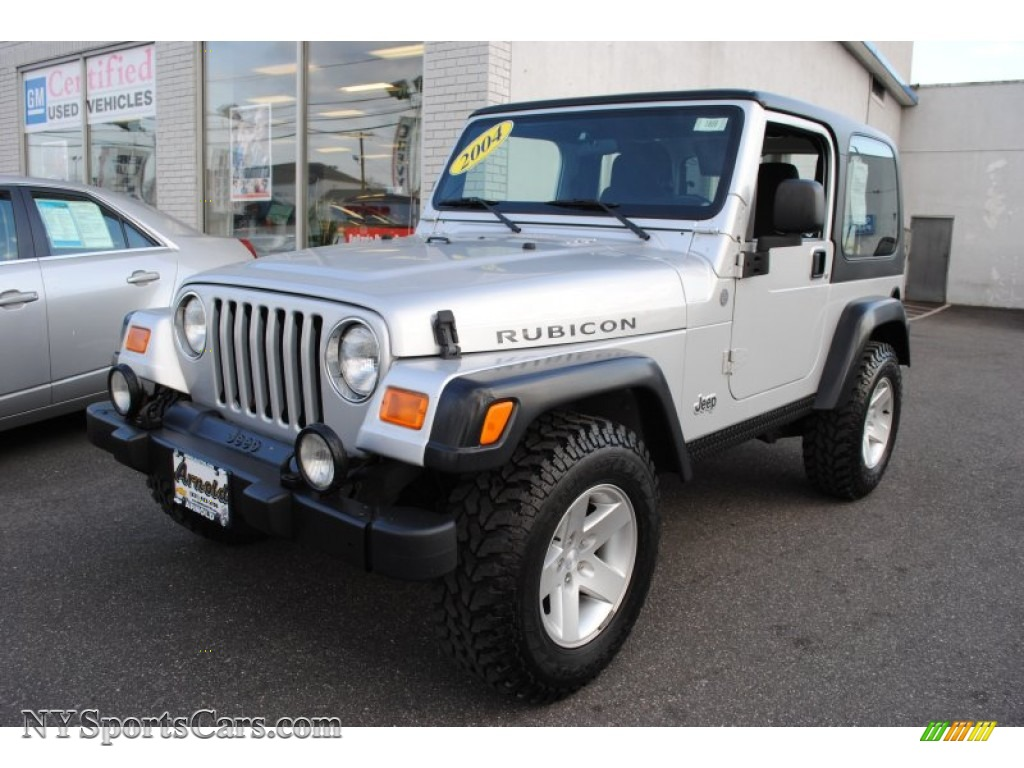 2004 jeep wrangler rubicon 4x4 in bright silver metallic 749978 cars for. Black Bedroom Furniture Sets. Home Design Ideas