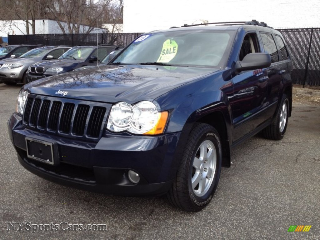 2009 jeep grand cherokee laredo 4x4 in modern blue pearl 529205 cars for. Black Bedroom Furniture Sets. Home Design Ideas