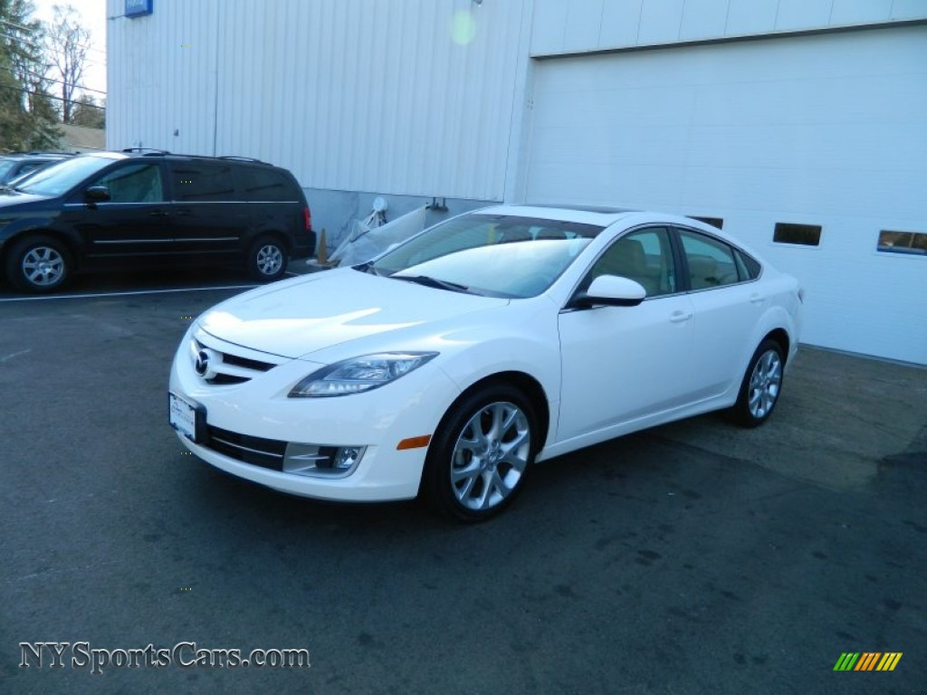 2009 mazda mazda6 s grand touring in performance white m34123 cars for. Black Bedroom Furniture Sets. Home Design Ideas