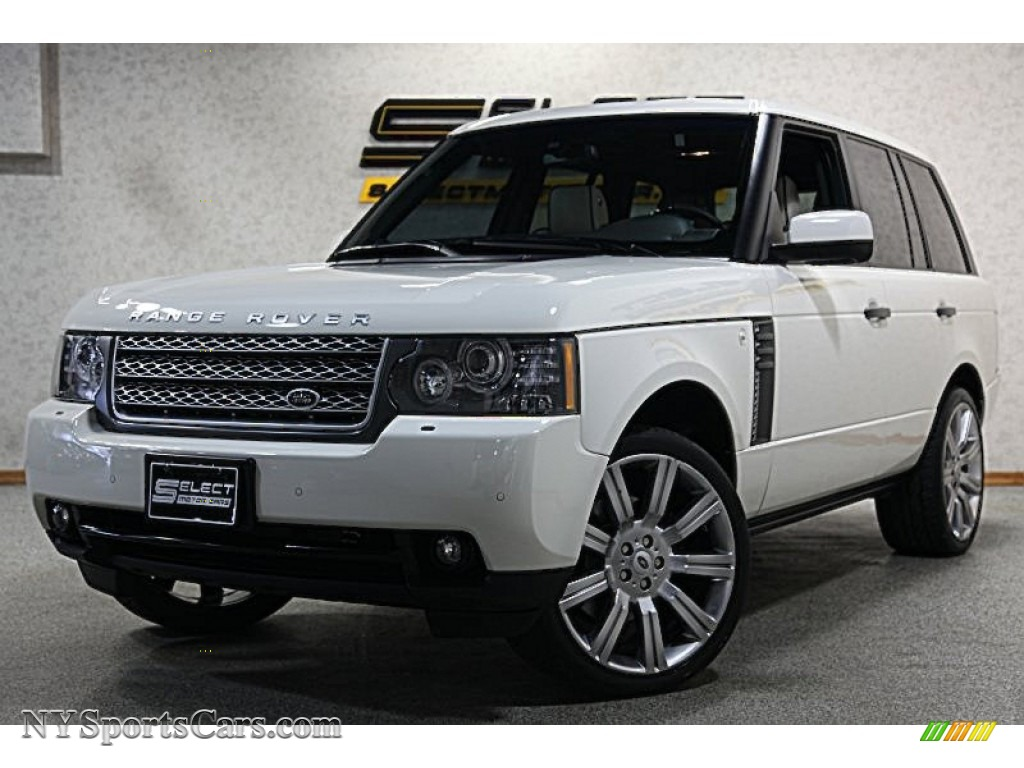 2010 land rover range rover hse in alaska white 316426. Black Bedroom Furniture Sets. Home Design Ideas