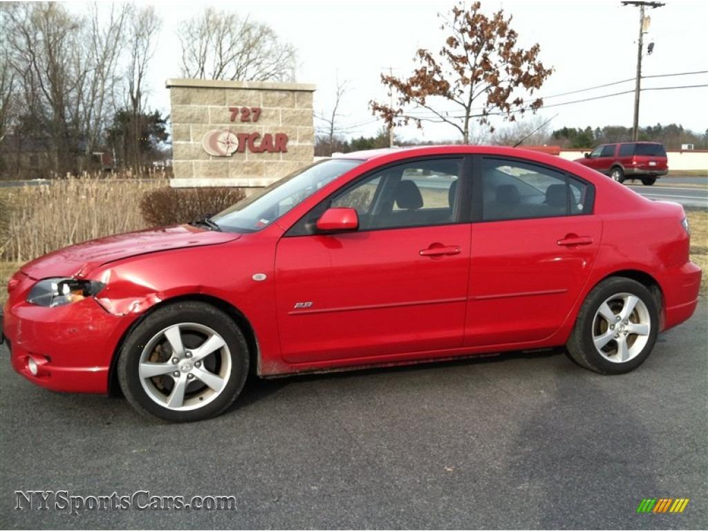 2006 Mazda MAZDA3 s Sedan in Velocity Red Mica - 400412 ...