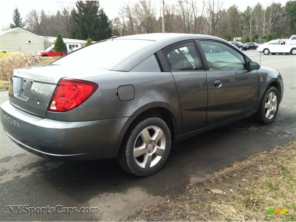 2007 saturn ion 2 quad coupe in storm gray photo 5. Black Bedroom Furniture Sets. Home Design Ideas