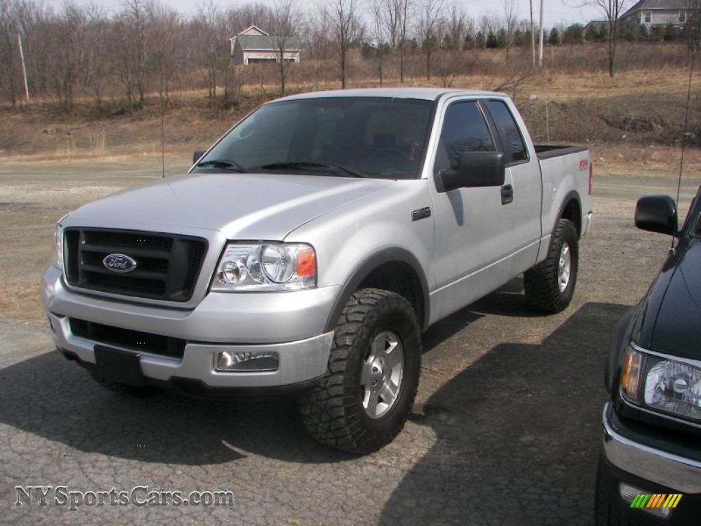 2005 Ford F150 Fx4 Supercab 4x4 In Silver Metallic Photo