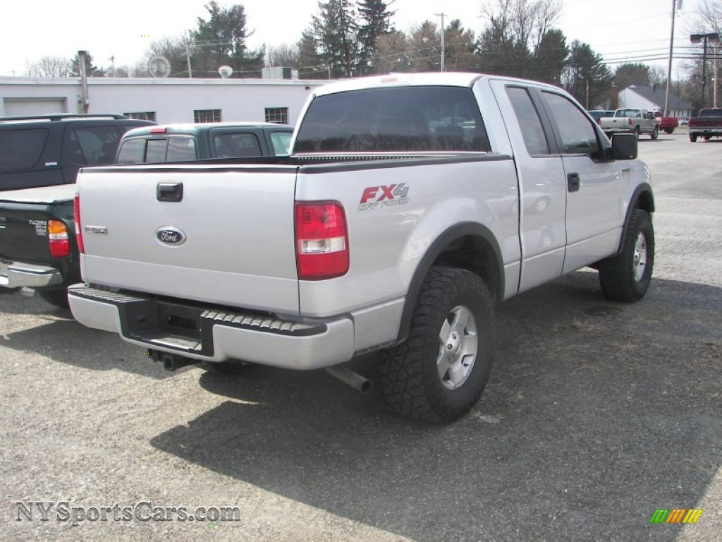 2005 ford f150 fx4 supercab 4x4 in silver metallic photo. Black Bedroom Furniture Sets. Home Design Ideas