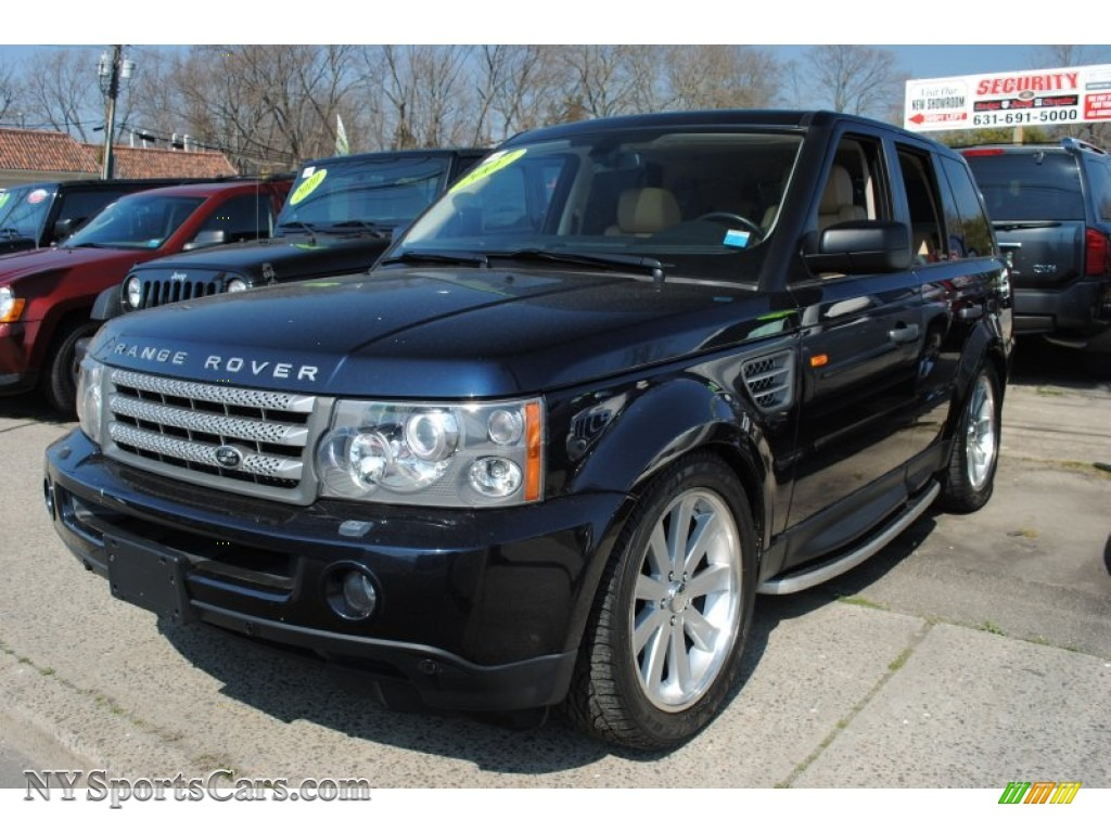 2007 Land Rover Range Rover Sport Hse In Buckingham Blue