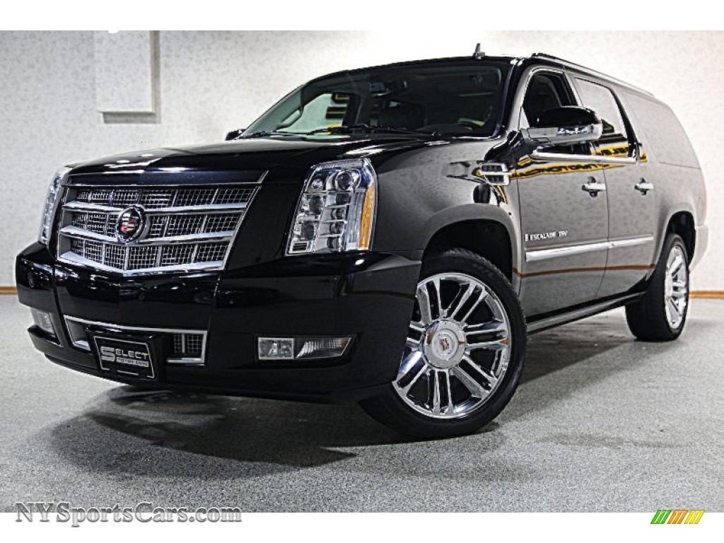 2009 cadillac escalade esv platinum awd in black raven 200596 cars for. Black Bedroom Furniture Sets. Home Design Ideas