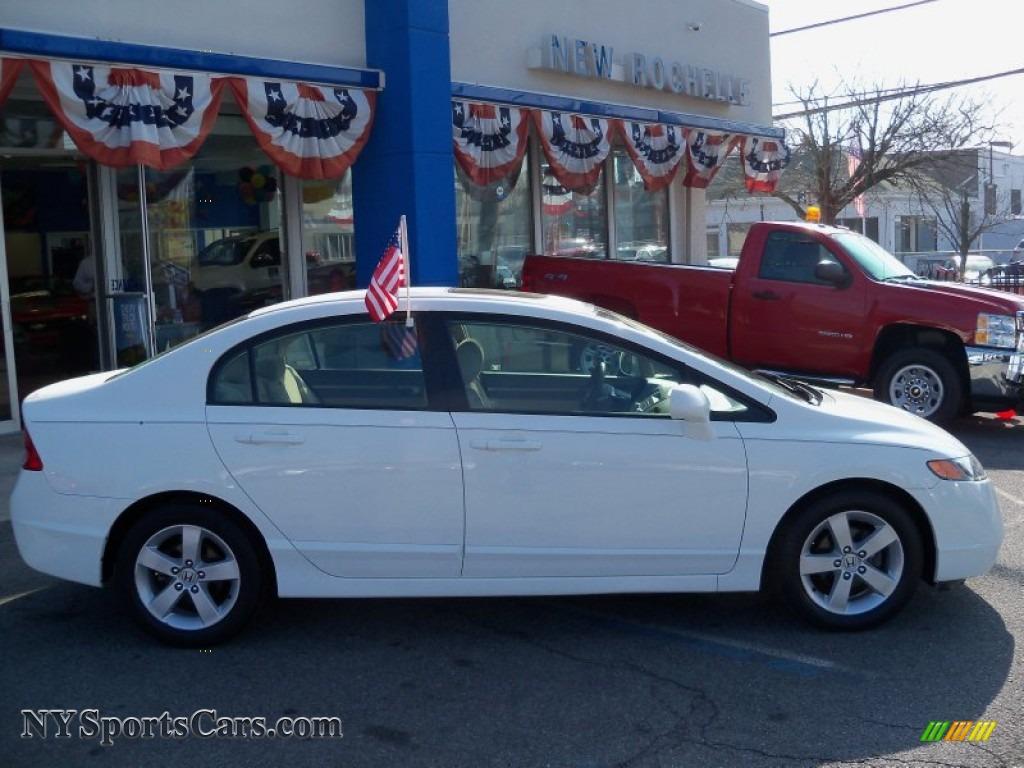 Taffeta White Ivory Honda Civic Ex Sedan