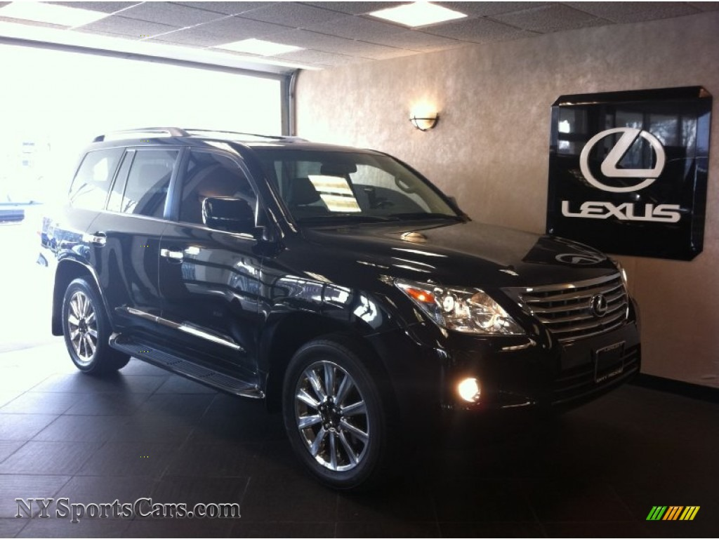 2010 lexus lx 570 in black onyx 055035 cars for sale in new york. Black Bedroom Furniture Sets. Home Design Ideas
