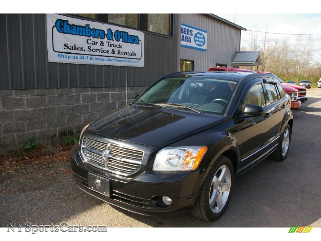 2008 dodge caliber r t awd in brilliant black crystal. Black Bedroom Furniture Sets. Home Design Ideas