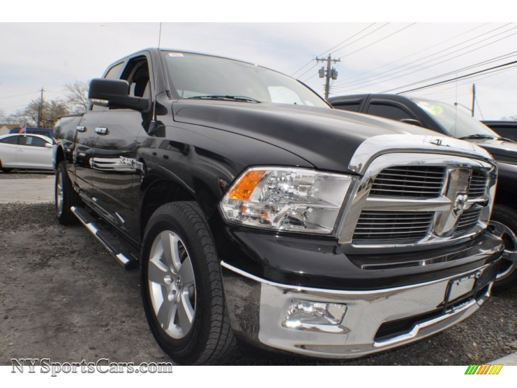2010 dodge ram 1500 big horn quad cab 4x4 in brilliant black crystal pearl photo 4 183918. Black Bedroom Furniture Sets. Home Design Ideas