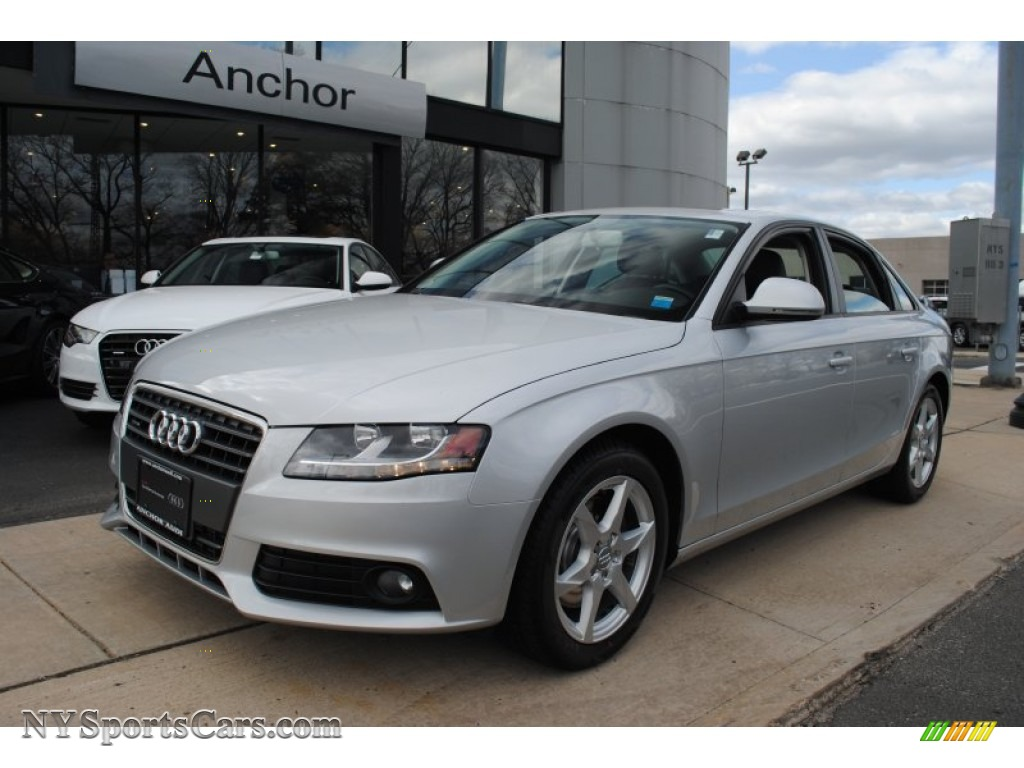 2009 audi a4 2.0t premium quattro sedan in ice silver metallic