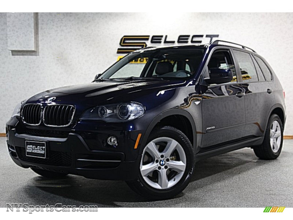 2009 bmw x5 xdrive30i in monaco blue metallic 268611 cars for sale in new. Black Bedroom Furniture Sets. Home Design Ideas